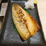 北海道海鮮にほんいち - 塩とろサバ焼き(580円)