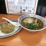 餃子館 - 料理写真:ラーメン定食 700円