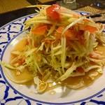 タイの食卓 パクチータイ - パパヤサラダ…税込980円
