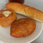 手作りパン工房 バーゼル - じゃがバター、カレーパン、スティック