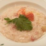 リストランテ ヴォナ フォルトゥーナ - 当店名物! 苺とゴルゴンゾーラチーズのリゾット