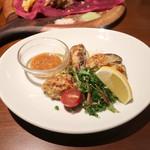 アンディカフェ - 広島産牡蠣のソテー