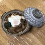 満留賀 - 料理写真:すき焼きうどん 大盛り