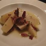 サウダージ - 筍と生ハムの炒め煮