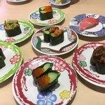 寿司和食 ここも - 料理写真:自分…巻物が好きなんです ニンニン(*´ω`*)