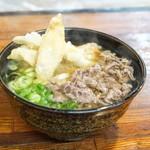 うどん平 - 料理写真:■肉ごぼううどん 570円