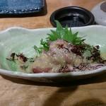 喜多郎寿し なんば店 - ホタルイカの酢味噌あえ