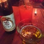 Monsoon Cafe - ノンアルコールビール零いちは五〇〇円とムスコ君グアバジュース五〇〇円