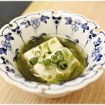 いわし料理 すゞ太郎 - 磯の香りがイイ感じのお通し。
