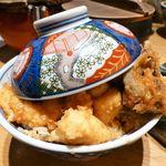 Tendonkanekoya - 天ばら丼(大盛)1,150円