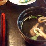 Shinoya - セットの肝吸い 品の良いだしが効いていて凄く美味です