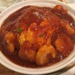 清龍 - 料理写真:エビチリ天津飯