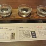 下田セントラルホテル - 飲み比べセット