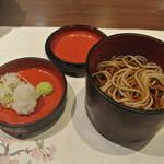 下田セントラルホテル - 凌ぎ お蕎麦