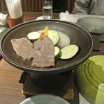 下田セントラルホテル - 火の物 牛カルビ陶板焼き