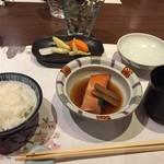 下田セントラルホテル - キヌヒカリの食事2