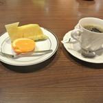下田セントラルホテル - デザート コーヒー