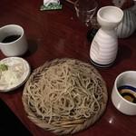 手打蕎麦 とし庵 - せいろ(大盛)
