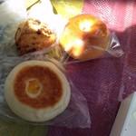 キィニョン - 桜スコーン 桜あんパン クリームチーズとオレンジのおやき