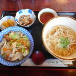 お多福 - やさか丼セット¥950-
