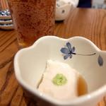 三七三 - お通し 胡麻豆腐