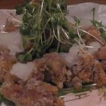 蕎麦ダイニング杜 - 唐揚げ