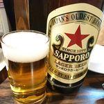 83387887 - 瓶ビール(サッポロラガー大瓶) 税込630円