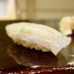 鮨 かんび - [2018/03]寿司② ひらめの握り