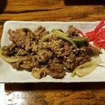 桜鍋 吉し多 - 桜肉の生姜焼き