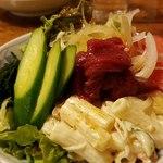 桜鍋 吉し多 - 桜肉のサラダ