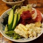 桜鍋 吉し多 - 醤油ベースのドレッシング