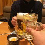 お食事処・居酒屋 竜田屋 - H.29.12.18.夜 ハイボール vs 生ビール de 乾杯♪