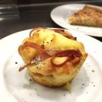 クインテット - ゴルゴンゾーラチーズ入りマフィン
