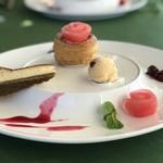 レストラン鳥居平 - デザートの一例