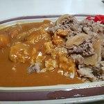 タブチ - 牛丼&カレー W盛り合わせ