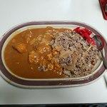 タブチ - 上空から牛丼&カレー W盛り合わせ