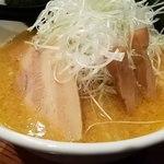 麺屋 雷神 - ねぎ味噌ラーメン