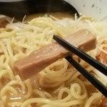 麺屋 雷神 - メンマリフト