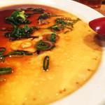 83393776 - ピータン中華風茶碗蒸し。シンプル、どっしり。たまらんぜ。