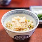 虎屋 壺中庵 - 鯛の炊き込みご飯