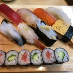第二ひさご寿司 - ランチにぎり