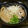 麺堂稲葉Kuki Style - 料理写真:とりそば黒大盛り900円