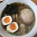 大黒屋 - 醤油ラーメン+煮卵