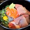 魚菜はざま - 料理写真:三色丼=1,600円