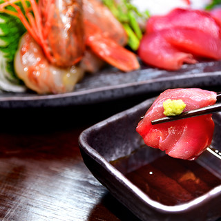 新鮮な魚介の料理です