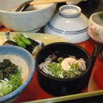 自然薯 茶茶 - とろろ御膳 竹(1890円)