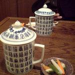 悟空茶荘 - セットのお茶 烏龍とジャスミンを(2008/10)