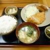 いちよし - 料理写真:「日替り定食(ミニチキンカツ+白身フライ)」500円