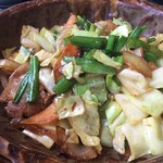 すみれキッチン - 野菜炒め定食
