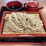 兎月庵 - 料理写真:もりそば 500円
